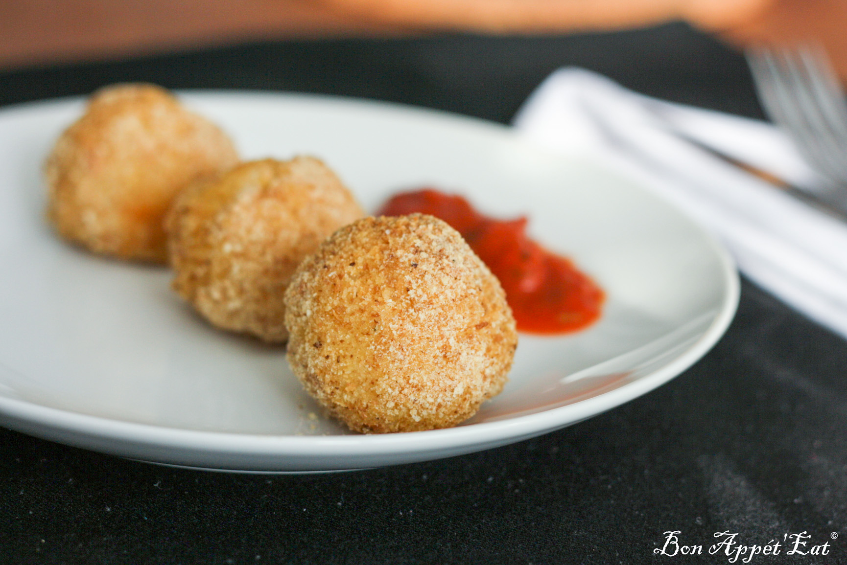 Discover my kitchen philosophy and my Arancinis!