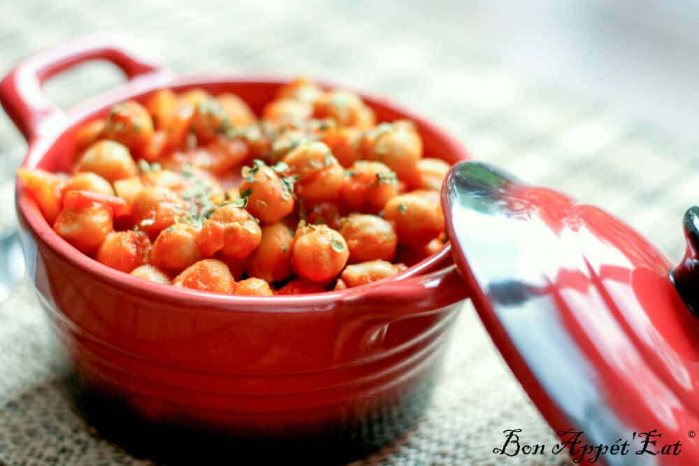 Garbanzos: Meatless meal recipe from the South…