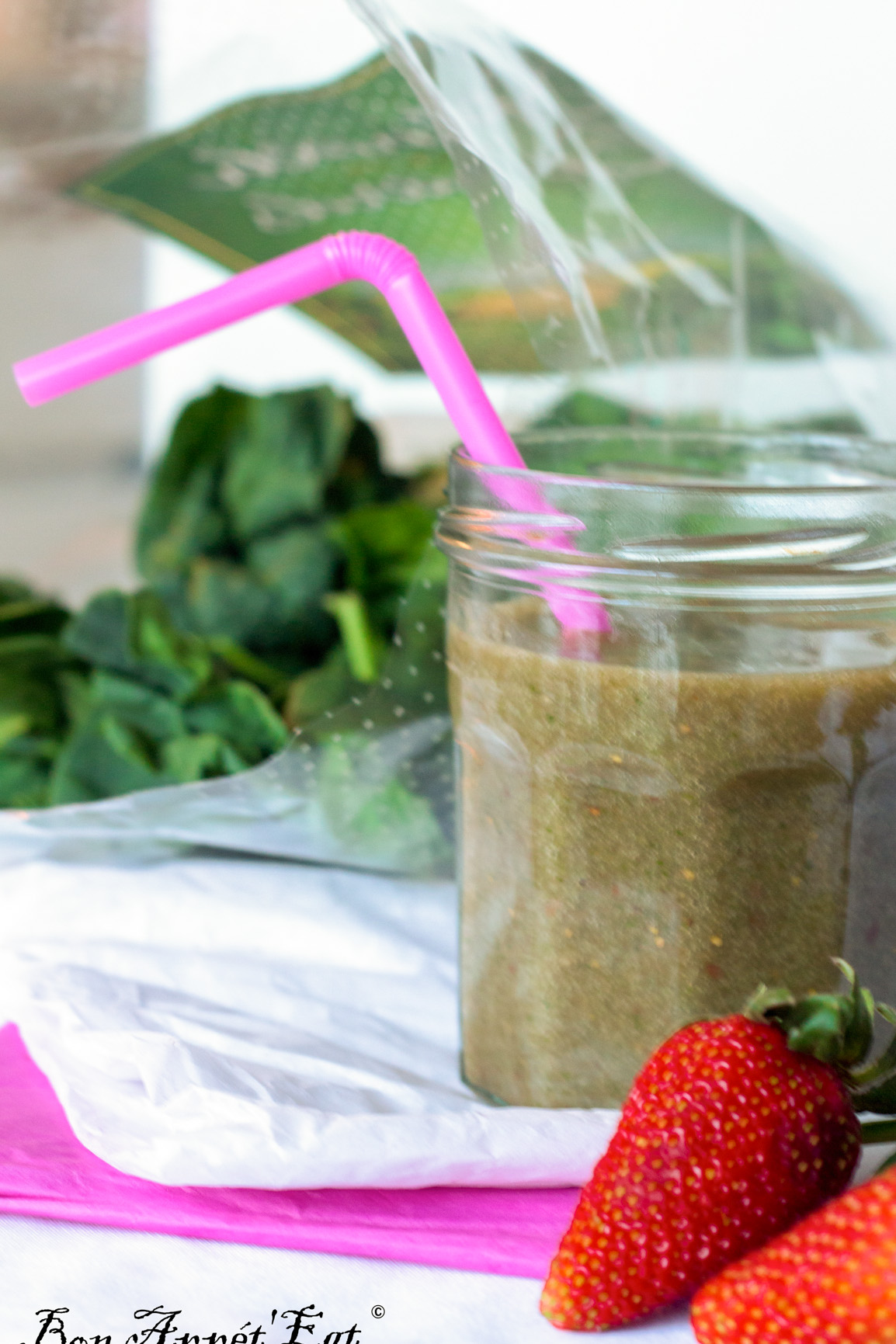 Green smoothie Vs Winter and stomach flu!