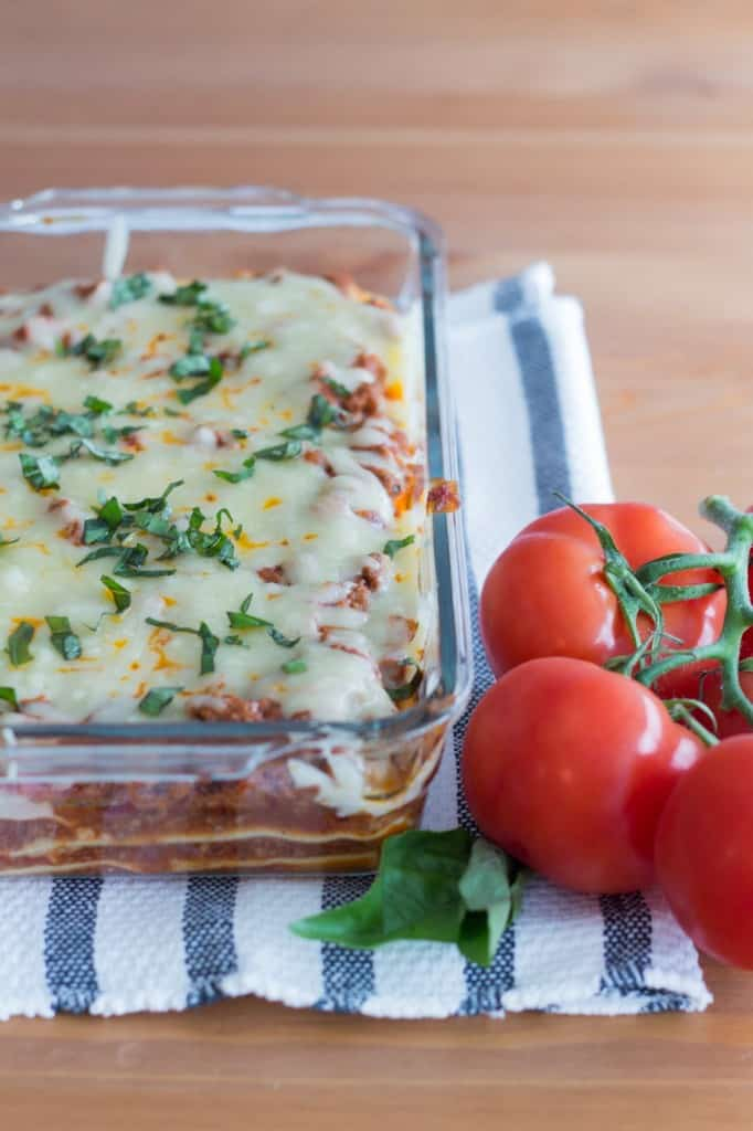 Menu planning: Lasagna