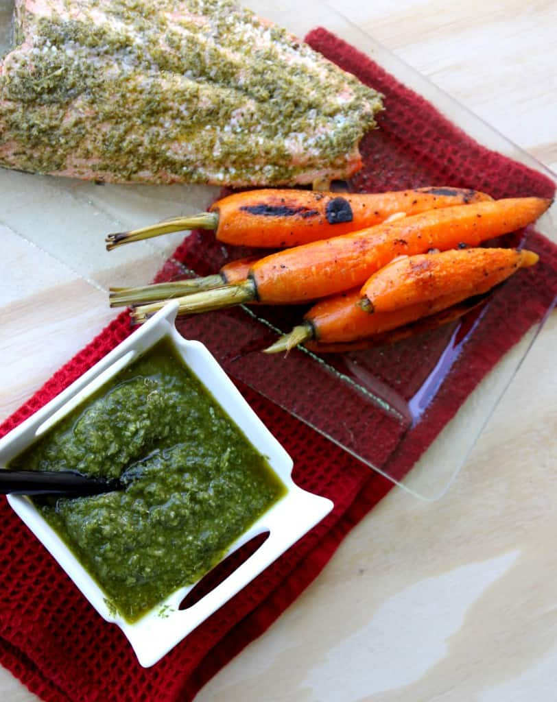 Carrot Top Pesto Salmon4