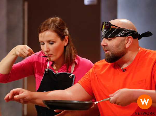 Tasting food with Duff Goldman