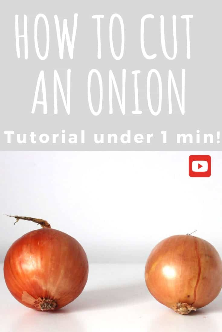 [How to] cut an onion