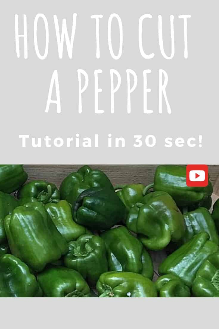 [How to] cut a pepper